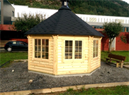 Grillpavillon - 16,5 m2